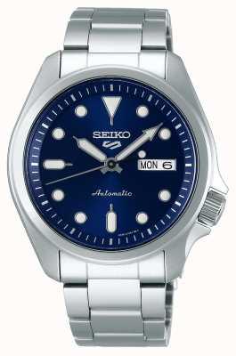 Seiko 5 sporten | automatisch horloge | blauwe wijzerplaat | roestvrij stalen armband SRPE53K1