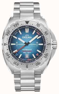 Delma Oceanmaster antarctica limited edition | roestvrij staal 41701.670.6.049
