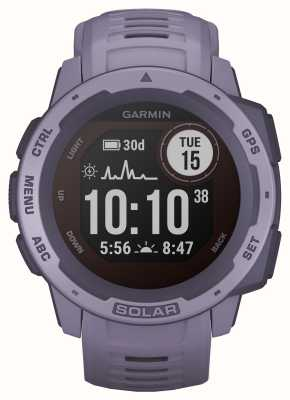 Garmin Instinct solar gps orchidee rubberen band 010-02293-02