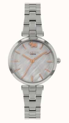 Radley West uitzicht | roestvrijstalen armband | zilveren wijzerplaat RY4509