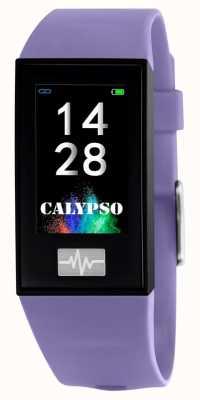 Calypso Unisex | smartime | paarse siliconen band + gratis riem K8500/2