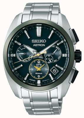 Seiko Astron gps limited edition groen en goud SSH071J1