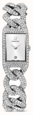 Swarovski Cocktail horloge | armband van roestvrij staal met kristallen | 5547617