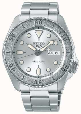 Seiko Heren | automatisch | zilver | sporten | armband SRPE71K1