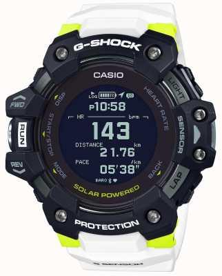 Casio G-schok | g-ploeg | hartslagmeter | bluetooth | wit | GBD-H1000-1A7ER