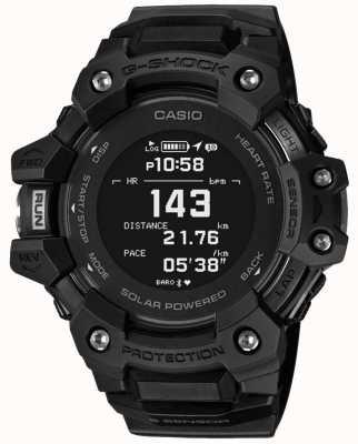 Casio g-shock | g-ploeg | hartslagmeter | bluetooth | zwart | GBD-H1000-1ER