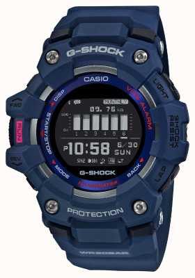 Casio G-schok | g-ploeg | steptracker | bluetooth | blauw GBD-100-2ER