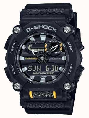 Casio G-schok | op zwaar werk berekend | wereldtijd | zwarte hars GA-900-1AER