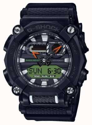 Casio G-schok | ltd editie | op zwaar werk berekend | wereldtijd | zwart GA-900E-1A3ER