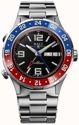 Ball Watch Company Roadmaster marine gmt | ltd editie | automatisch | zwarte wijzerplaat DG3030B-S4C-BK
