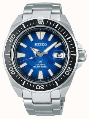 Seiko Mannen redden de oceaan | mantarog | roestvrij stalen armband SRPE33K1