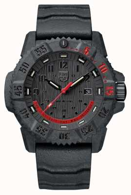 Luminox Master carbon seal 3800 limited edition zwart en rood XS.3801.EY