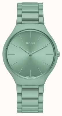 RADO Echte thinline les couleurs engels groen limited edition R27096662