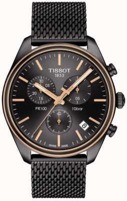 Tissot Heren t classic pr 100 chronograaf T1014172306100