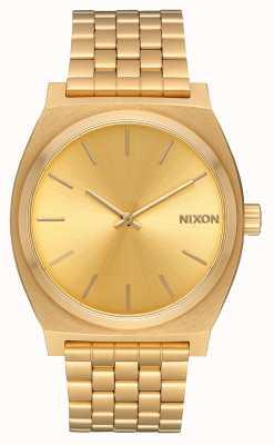 Nixon Tijd teller | alle goud / goud | gouden ip-armband | gouden wijzerplaat A045-511-00