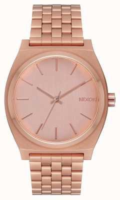 Nixon Tijd teller | alle roségoud | rosé gouden armband | rose gouden wijzerplaat A045-897-00
