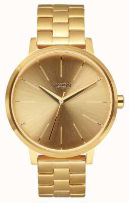 Nixon Kensington   alle goud   gouden ip stalen armband   gouden wijzerplaat A099-502-00