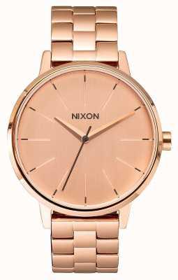 Nixon Kensington | alle roségoud | roségouden ip-armband | rose gouden wijzerplaat A099-897-00