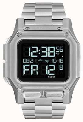 Nixon Regulus ss | zwart | digitaal | roestvrijstalen armband | A1268-000-00
