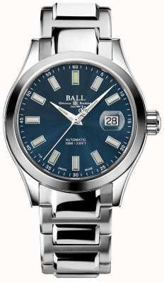 Ball Watch Company Engineer III Marvelight | roestvrij staal | blauwe wijzerplaat NM2026C-S10J-BE