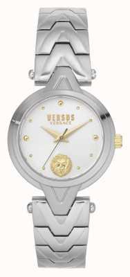 Versus Versace Dames v_versus forlanini | roestvrijstalen armband | zilveren wijzerplaat VSPVN0620