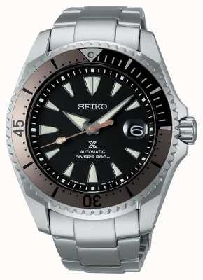 "Seiko Prospex ""shogun"" | titanium armband | zwarte wijzerplaat SPB189J1"