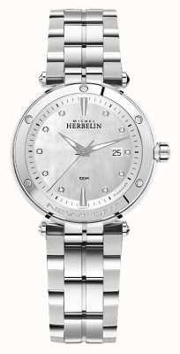 Michel Herbelin Newport | roestvrijstalen damesarmband 14288/B89