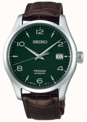 "Seiko Emaille in gelimiteerde oplage voor heren van ""groene ceder"" SPB111J1"