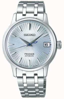 Seiko | presage | vrouwen | roestvrijstalen armband | blauwe wijzerplaat | SRP841J1