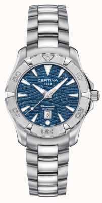 Certina Dames DS action sparkle blauwe wijzerplaat C0322511104109