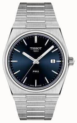 Tissot PRX 40 mm quartz blauwe wijzerplaat voor heren T1374101104100