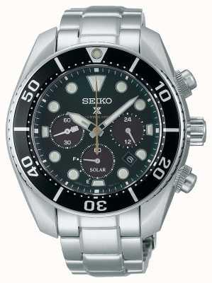 "Seiko Prospex ""Island Green"" solar chronograaf ""sumo"" horloge in beperkte oplage SSC807J1"