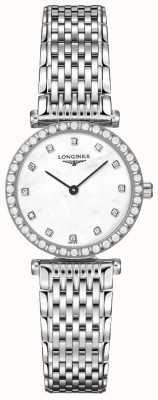 Longines Dames | la grande classique | diamanten witte wijzerplaat | roestvrij staal L43410806