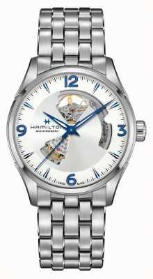 Hamilton Jazzmaster | automatisch | open hart | roestvrij staal H32705152