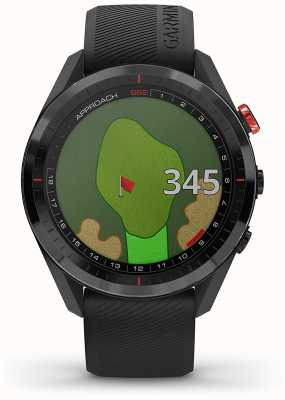 Garmin Aanpak s62 | golf gps | keramiek bezel | zwarte siliconen 010-02200-00