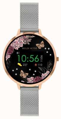 Reflex Active Serie 3 slim horloge | roestvrijstalen mesh band RA03-4037