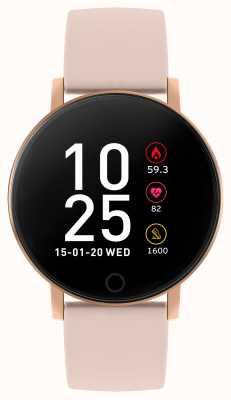 Reflex Active Serie 5 slim horloge | hr monitor | kleuren touchscreen | roze riem RA05-2020