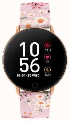 Reflex Active Serie 5 slim horloge | hr monitor | kleuren touchscreen | roze riem RA05-2062