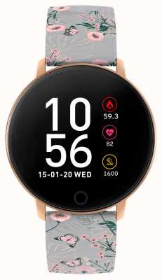 Reflex Active Serie 5 slim horloge | hr monitor | kleuren touchscreen | grijze band RA05-2064