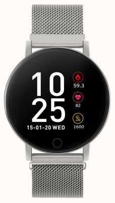 Reflex Active Serie 5 slim horloge | hr monitor | kleuren touchscreen | stalen gaas RA05-4015