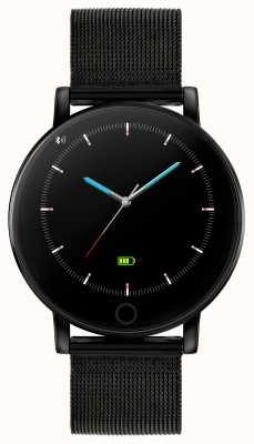 Reflex Active Serie 5 slim horloge | hr monitor | kleuren touchscreen | zwart ip staal gaas RA05-4024