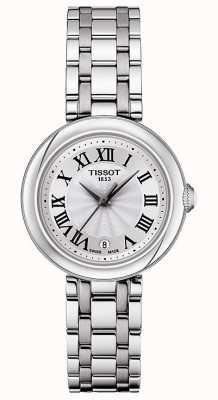 Tissot Bellissima | zilveren wijzerplaat | roestvrij stalen armband T1260101101300