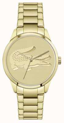 Lacoste Ladycroc | vergulde armband | gouden wijzerplaat 2001175