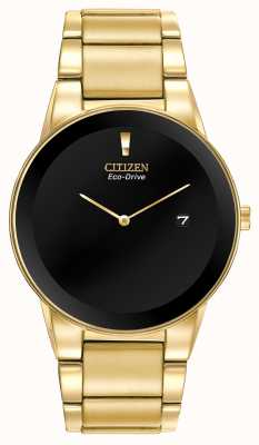 Citizen Gouden armband met eco-drive axioma voor heren AU1062-56E