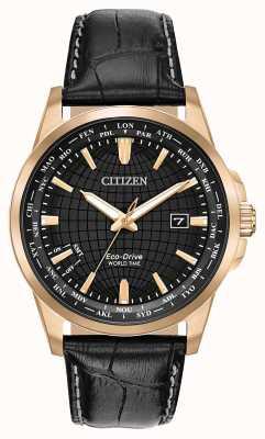 Citizen Eco-drive wereldtimer voor heren WR50 BX1003-08E