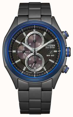 Citizen Eco-drive-armband voor heren WR100 CA0438-52E