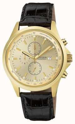 Citizen Vergulde quartz chronograaf AN3512-03P