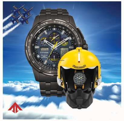 Citizen Eco-drive promaster skyhawk blue angels voor heren JY8097-58L