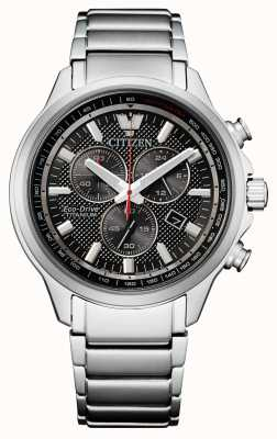 Citizen Eco-drive super titanium chronograaf voor heren AT2470-85E
