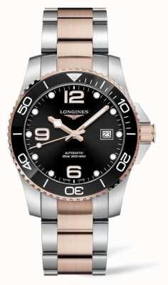 Longines Hydroconquest automatisch tweekleurig horloge L37813587